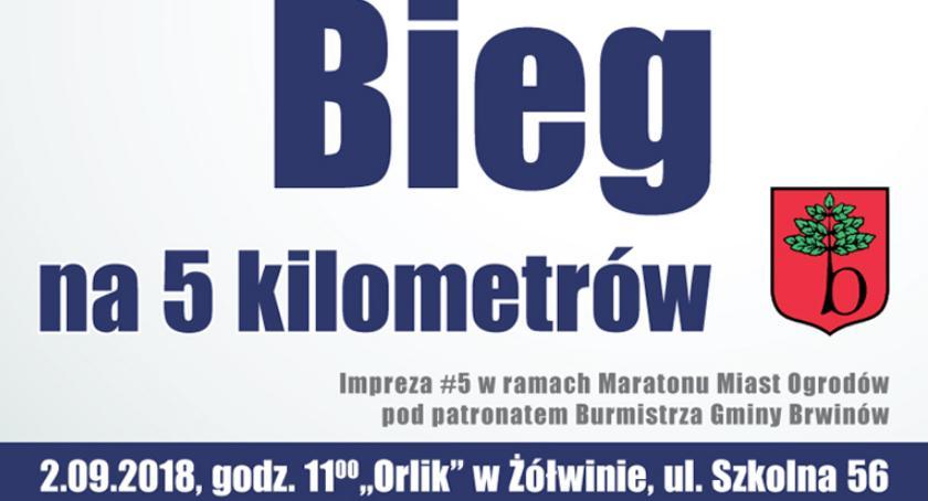 biegi, Gmina Brwinów Żółwinie - zdjęcie, fotografia