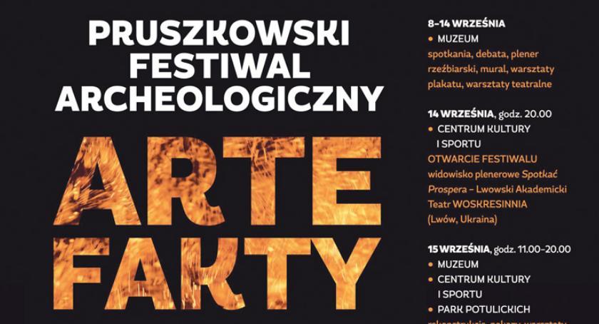 historia, ARTEfakty Pruszkowski Festiwal Archeologiczny 8–15 września - zdjęcie, fotografia