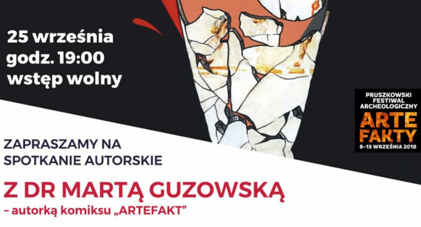 historia, Wieczór autorski Martą Guzowską Muzeum Starożytnego Hutnictwa Mazowieckiego Stefana Woydy - zdjęcie, fotografia