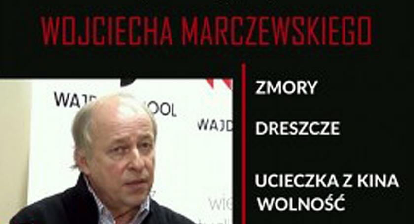 film i kino , Spotkanie reżyserem Wojciechem Marczewskim projekt Podkowa Leśna - zdjęcie, fotografia