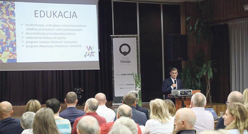 urzędy i administracja , Konwencja Wyborcza Komitetu Wyborczego Wspólnie Pruszków Rozwijamy - zdjęcie, fotografia
