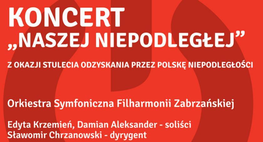 koncerty, Koncert okazji stulecia odzyskania przez Polskę niepodległości - zdjęcie, fotografia