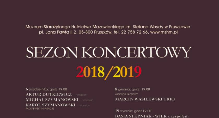 """koncerty, Wieczór jazzowy Marcin Wasilewski """"Sezon koncertowy 2018/2019 - zdjęcie, fotografia"""