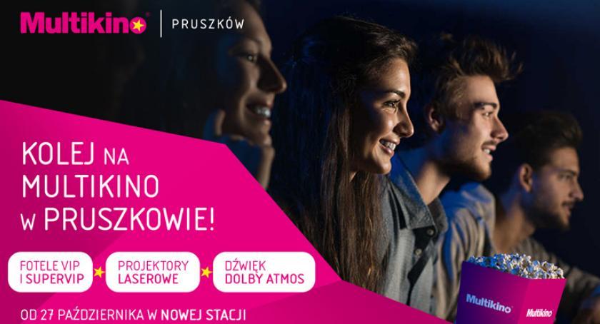 film i kino , Stacja Pruszkowie Multikino Pruszkowie! - zdjęcie, fotografia