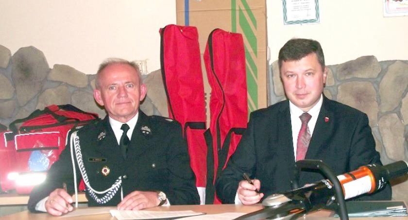 inwestycje, Dotacja Ochotniczych Straży Pożarnych - zdjęcie, fotografia