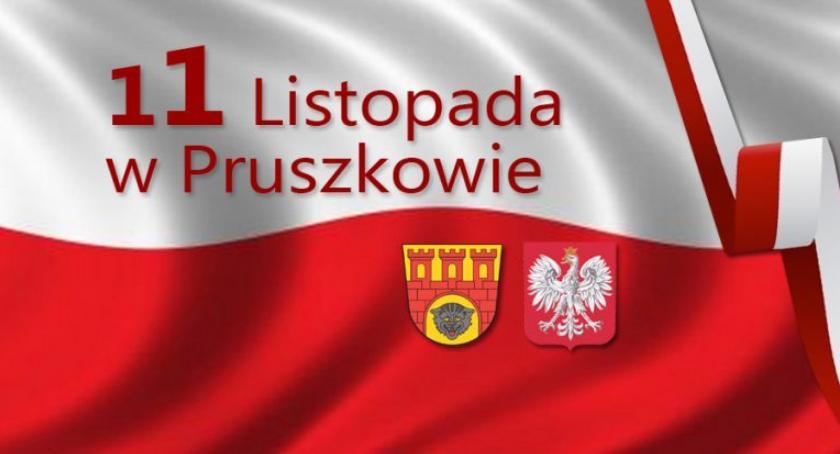 święta kościelne i państwowe , Obchody listopada Pruszkowie - zdjęcie, fotografia