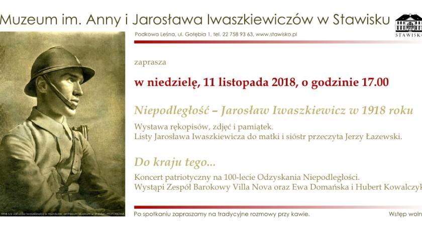 wystawy, Muzeum Jarosława Iwaszkiewiczów Stawisku zaprasza - zdjęcie, fotografia