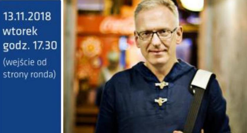 publicystyka, Spotkanie autorskie Mariuszem Szczygłem Nadarzynie - zdjęcie, fotografia