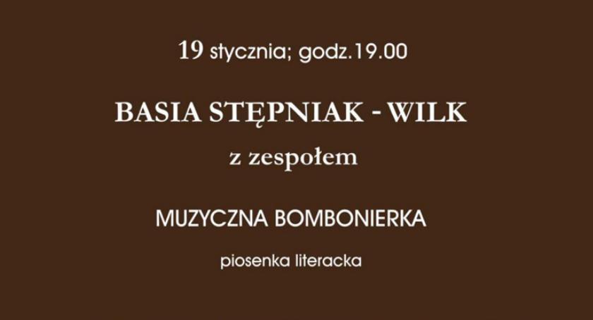 """koncerty, """"Muzyczna Bombonierka"""" koncert Stępniak zespołem """"Sezon koncertowy 2018/2019"""" - zdjęcie, fotografia"""