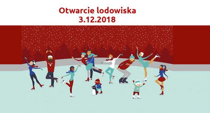 sport szkolny, Zmiana terminu otwarcia lodowiska Pruszkowie - zdjęcie, fotografia