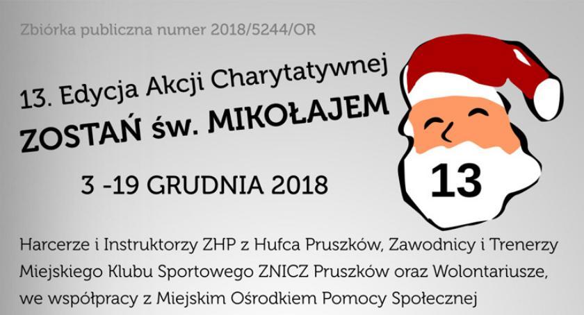 akcje charytatywne , Świąteczna Zbiórka Żywności Pruszkowie - zdjęcie, fotografia