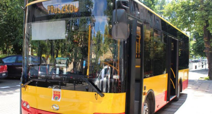 komunikacja, grudnia zmiany linii pruszkowskich autobusów - zdjęcie, fotografia