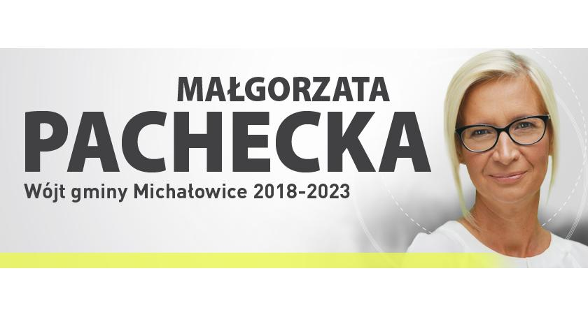 urzędy i administracja , Orędzie wójta gminy Michałowice Małgorzaty Pacheckiej mieszkańców gminy - zdjęcie, fotografia