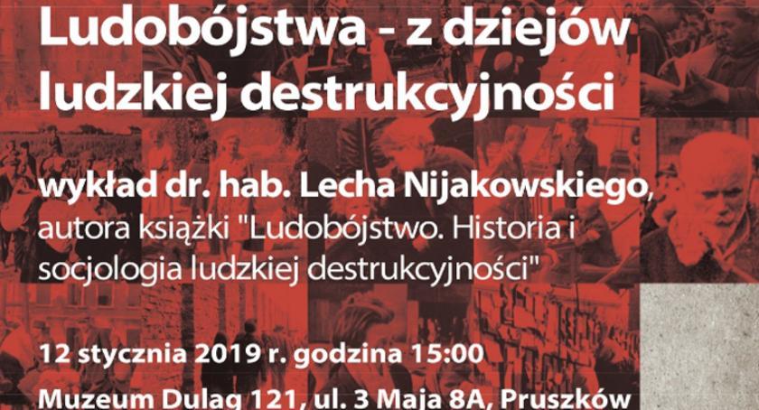 edukacja, Ludobójstwa dziejów ludzkiej destrukcyjności spotkanie Muzeum Dulag - zdjęcie, fotografia