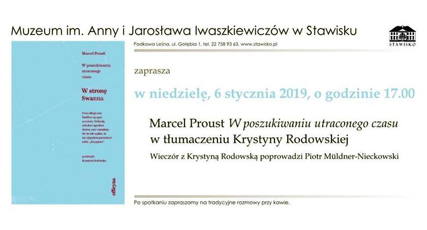 publicystyka, Muzeum Jarosława Iwaszkiewiczów Stawisku Zaprasza niedzielę stycznia godzinie - zdjęcie, fotografia