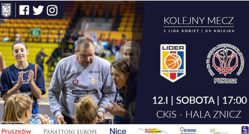 koszykówka, Panattoni Europe Lider Pruszków PZKosz Łomianki - zdjęcie, fotografia