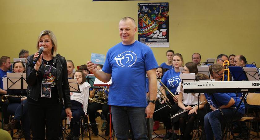 akcje charytatywne , WOŚP Pruszkowie - zdjęcie, fotografia