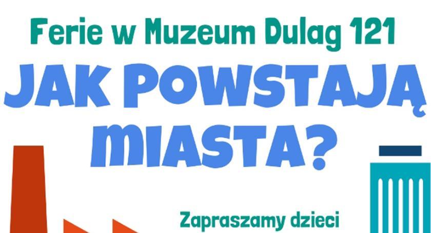 rozrywka, Ferie zimowe Muzeum Dulag - zdjęcie, fotografia