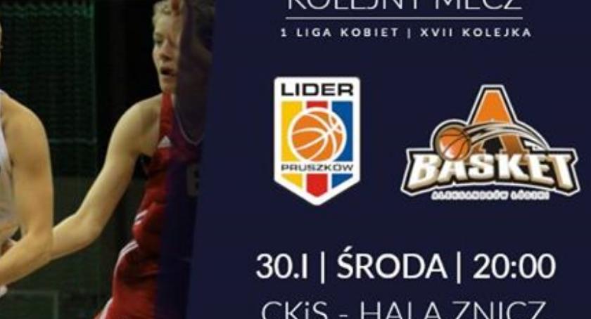 koszykówka, Panattoni Europe Lider Pruszków Basket Aleksandrów Łódzki - zdjęcie, fotografia