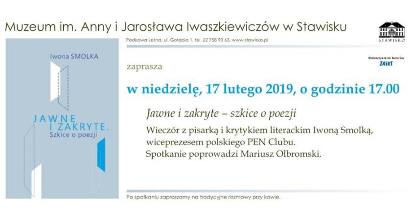 publicystyka, Muzeum Jarosława Iwaszkiewiczów Stawisku zaprasza - zdjęcie, fotografia