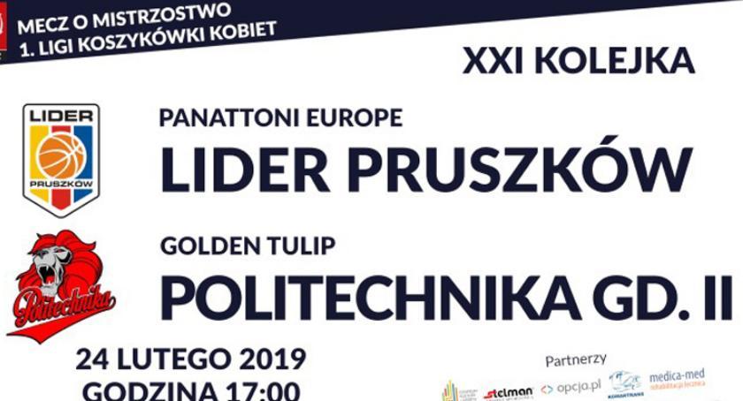 koszykówka, Panattoni Europe Lider Pruszków Golden Tulip Politechnika Gdańska - zdjęcie, fotografia