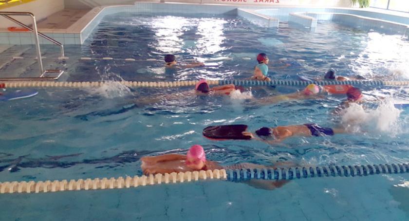 pływanie, Kolejne zajęcia uczniów gminie Brwinów - zdjęcie, fotografia