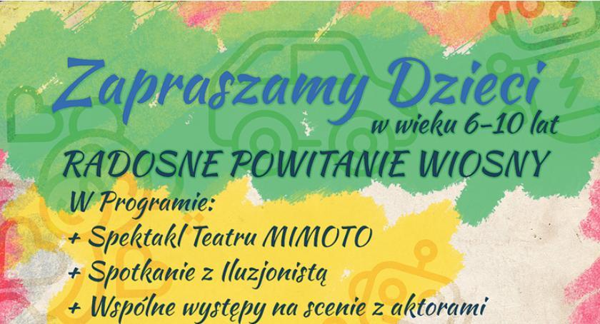 rozrywka, Radosne powitanie wiosny Pruszkowie - zdjęcie, fotografia