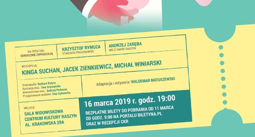 """teatr, Spektakl """"Romans pajacem"""" ramach """"Wehikułu Teatralnego Powiatu Pruszkowskiego"""" - zdjęcie, fotografia"""