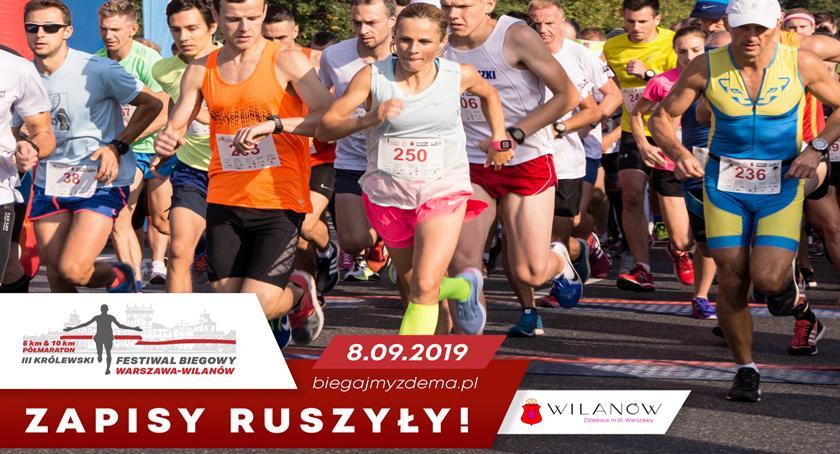 biegi, września wystartuje trzecia edycja Królewskiego Festiwalu Biegowego Wilanowie - zdjęcie, fotografia