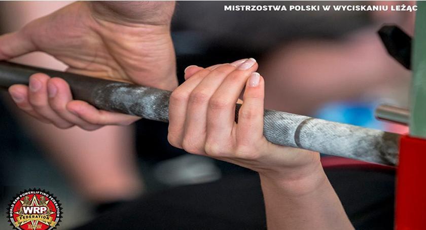 lekkoatletyka , Mistrzostwa Polski wyciskaniu sztangi leżąc rosyjskiej federacji World Powerlifting Federat - zdjęcie, fotografia