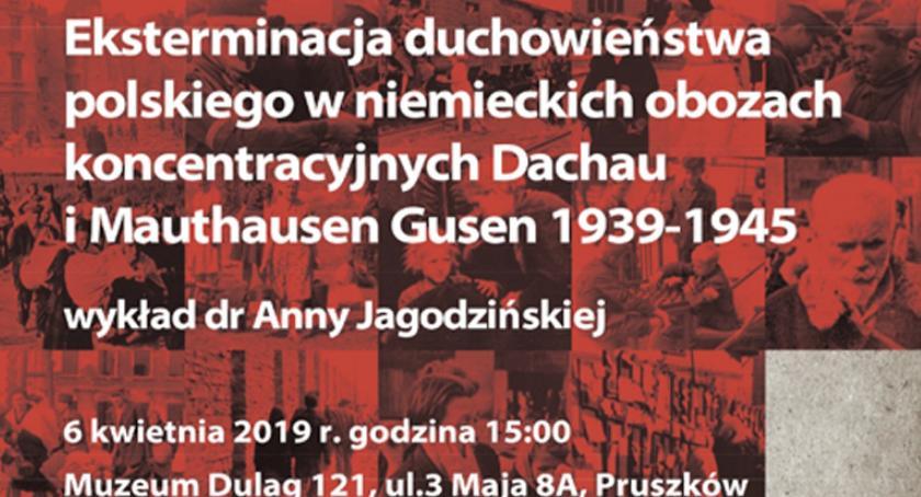 film i kino , Eksterminacja duchowieństwa polskiego niemieckich obozach koncentracyjnych Dachau Mauthausen - zdjęcie, fotografia