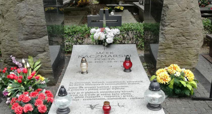 edukacja, Jacek Kaczmarski zmarł - zdjęcie, fotografia
