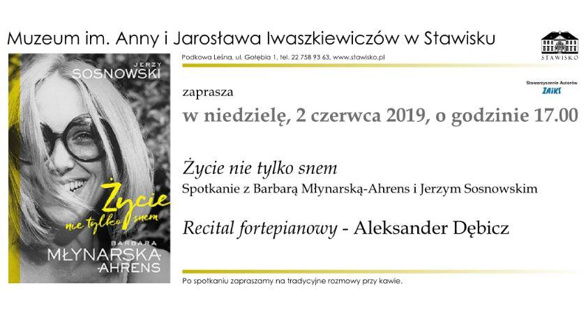 rozrywka, Barbara Młynarska Ahrens Jerzy Sosnowski Stawisku - zdjęcie, fotografia