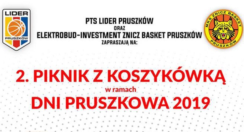 koszykówka, Piknik koszykówką dniach Pruszkowa - zdjęcie, fotografia