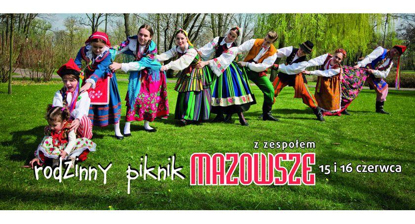 """rozrywka, Rodzinny Piknik Zespołem """"Mazowsze"""" - zdjęcie, fotografia"""