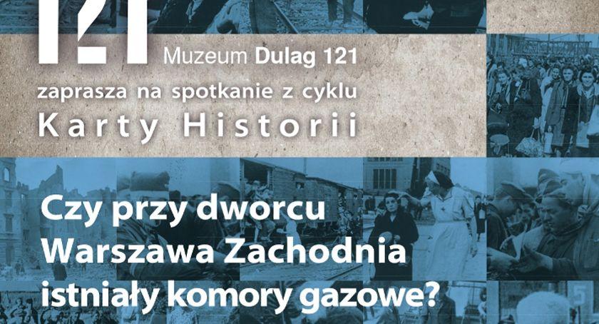 historia, dworcu Warszawa Zachodnia istniały komory gazowe - zdjęcie, fotografia