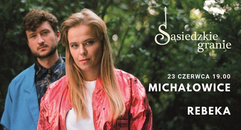 koncerty, REBEKA ogrodzie Michałowicach specjalny koncert Sąsiedzkim Graniu! - zdjęcie, fotografia