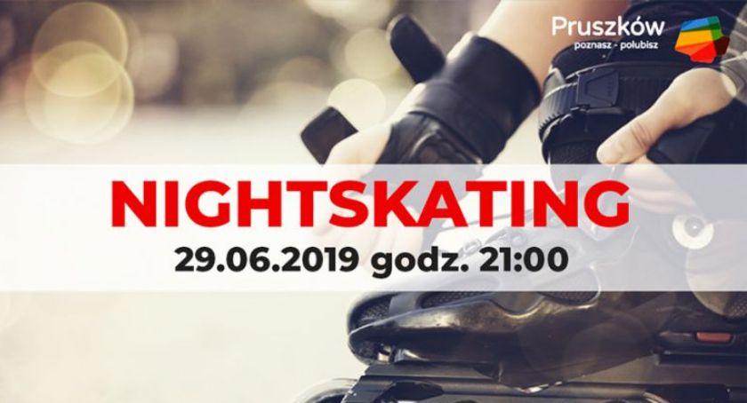 kolarstwo, Zapraszamy Nightskating Pruszkowa - zdjęcie, fotografia