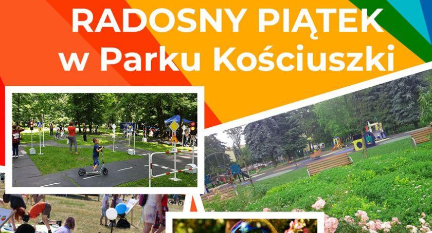 rozrywka, Radosny piątek najmłodszych Parku Kościuszki - zdjęcie, fotografia