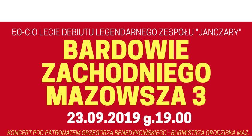 koncerty, Koncert Bardowie Zachodniego Mazowsza organizowany okazji lecia debiutu legendarnego zespołu Janczary - zdjęcie, fotografia