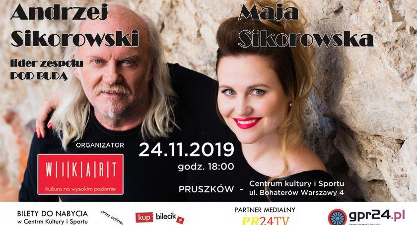 koncerty, Andrzej Sikorowski Sikorowska dadzą koncert Pruszkowie - zdjęcie, fotografia
