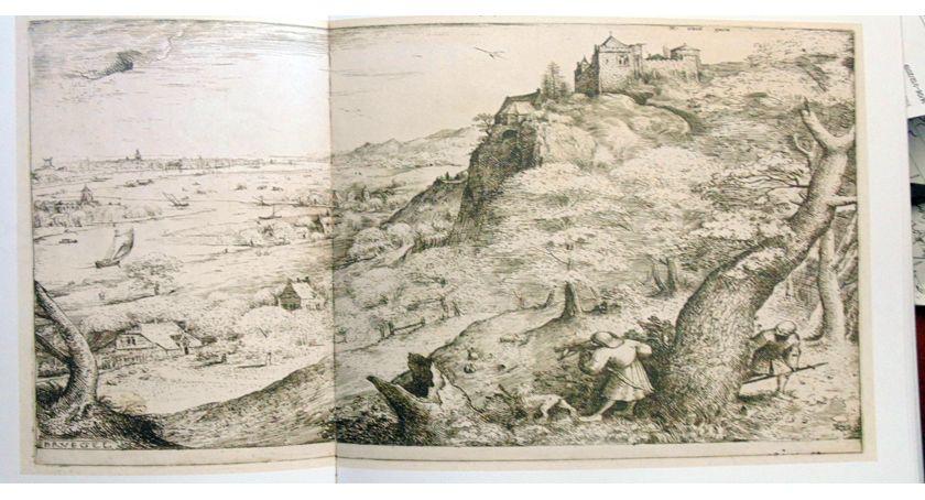 wystawy, Grafika mistrzów Bruegel Rembrandt - zdjęcie, fotografia