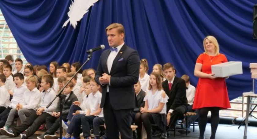 inwestycje, Otwarcie Szkoły Podstawowej Marii Konopnickiej Pruszkowie - zdjęcie, fotografia