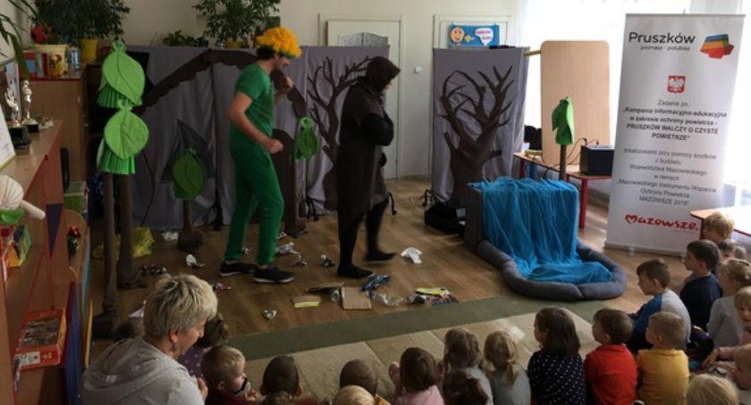 edukacja, Spektakl ekologiczno edukacyjny Pruszkowie - zdjęcie, fotografia