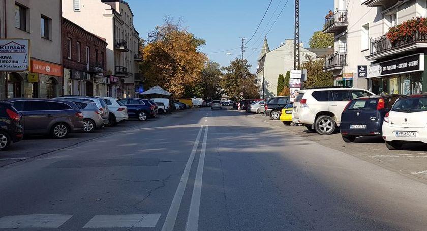 komunikacja, Uwaga! Utrudnienia ruchu ulicach Kościuszki Chopina Drzymały - zdjęcie, fotografia