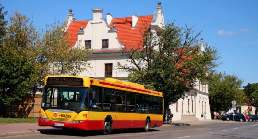 komunikacja, Kursowanie specjalnych autobusów listopada (Wszystkich Świętych) Pruszkowie okolicy - zdjęcie, fotografia