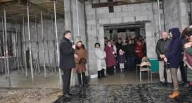 Wmurowanie kamienia węgielnego pod budowę przedszkola w Otrębusach