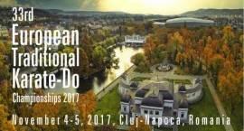 XXXIII Mistrzostwa Europy w Karate Tradycyjnym 4-5 listopada 2017, Kluż-Napoka (Rumunia)