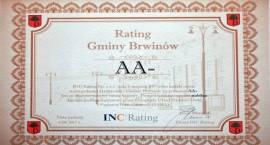 Gmina Brwinów z ratingiem AA-