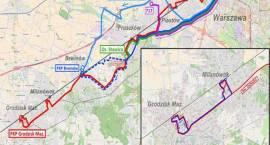 Komunikacja zastępcza na czas remontu linii kolejowej 447 Grodzisk Mazowiecki - Warszawa Włochy